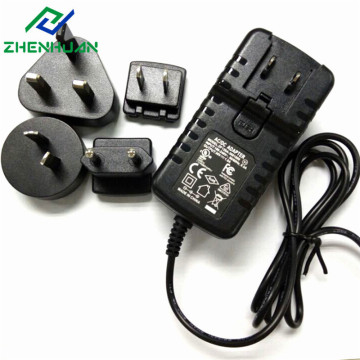 36W 36V 1A Multi Plug International Power Adapter