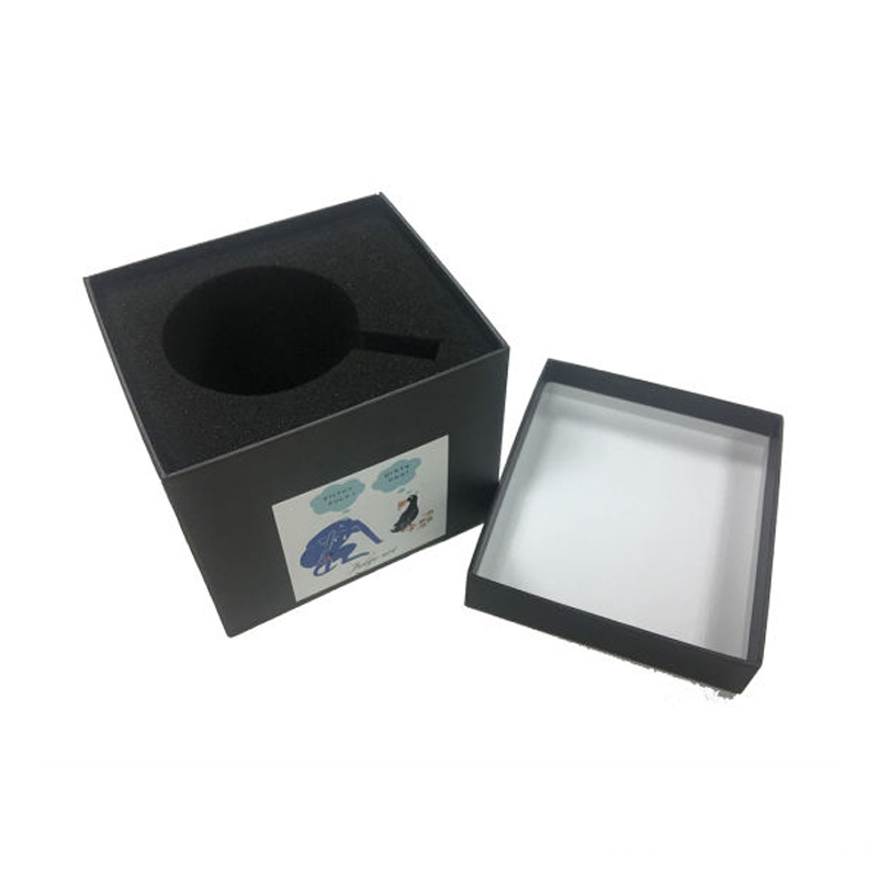 High-End Cosmetic Paper Gift Packaging Boxes With Tray