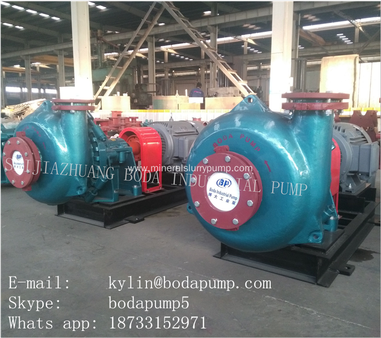 High Efficiency Gravel Dredging Mud Sand Pump