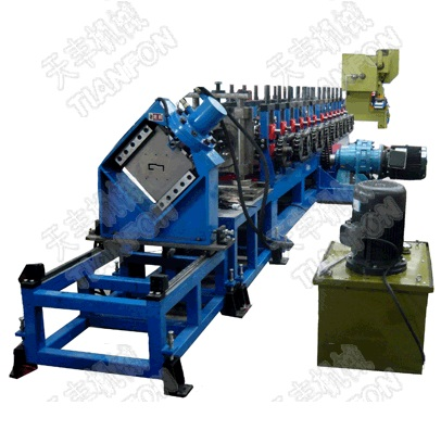 Electric Cabinet Frame Roll Forming Machinery