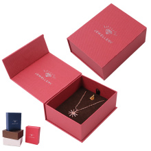 Wholesale Book Shaped Jewelry Necklace Paper Box