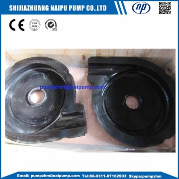Rubber slurry pump spare parts impeller