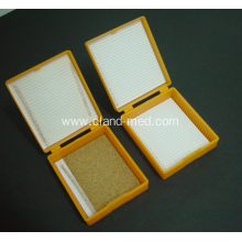 China supplier OEM for Microscope Slide Tray Slide Storage Box 25pcs export to Latvia Manufacturers