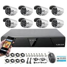 PoE NVR 1MP IP Outdoor Security Systems