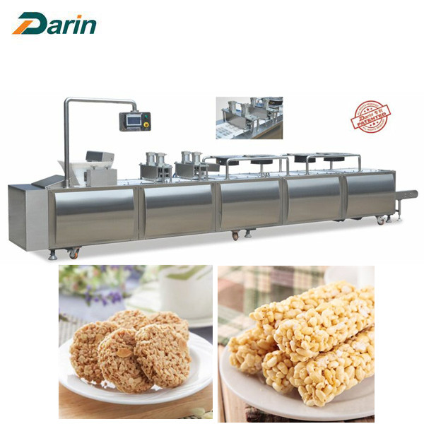 Various Shapes Cereal Bar Molding Machine