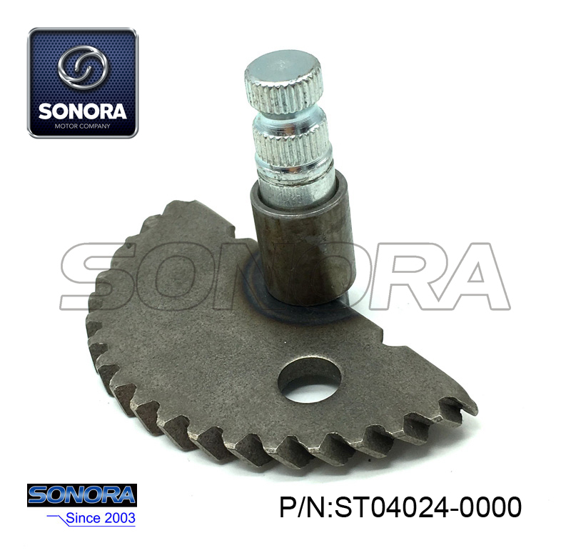 ST04024-0000 GY6-50 139QMA,B Kick Start Shaft Gear