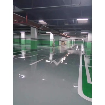Parking lot epoxy mortar anti-static floor paint