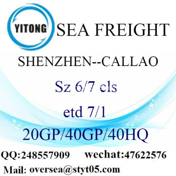 Shenzhen Port Sea Freight Shipping To Callao