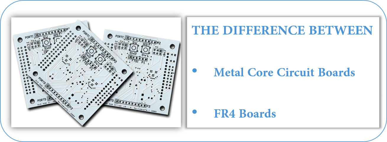 How Do Metal Core Circuit Boards Differ From FR4 Boards