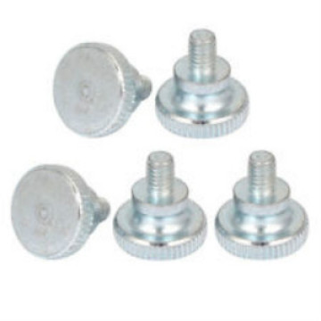 Knurled Thin thumb screws for wood
