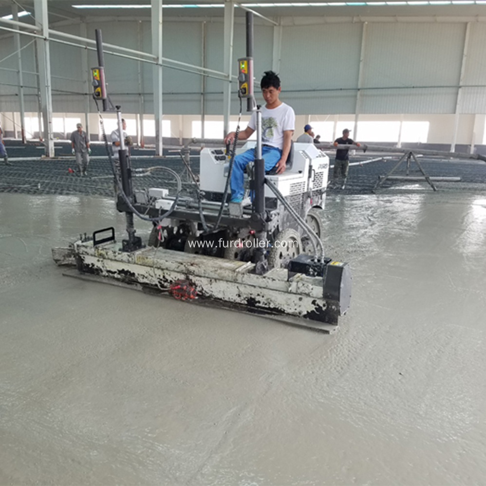 Hydraulic Laser Level Screed With Honda Engine