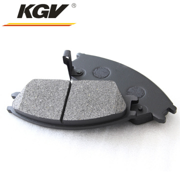 Top quality front disk free brake pad 00120044-00120046