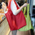 Large capacity supermarket cloth shopping bag fold bag