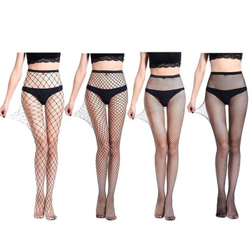 Women Fishnet Tights 4P