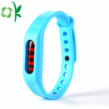 Hot New Products for Insect Repellent Wristbands Eco-friendly Simple High-end Silicone Mosquito Bands export to Italy Manufacturers