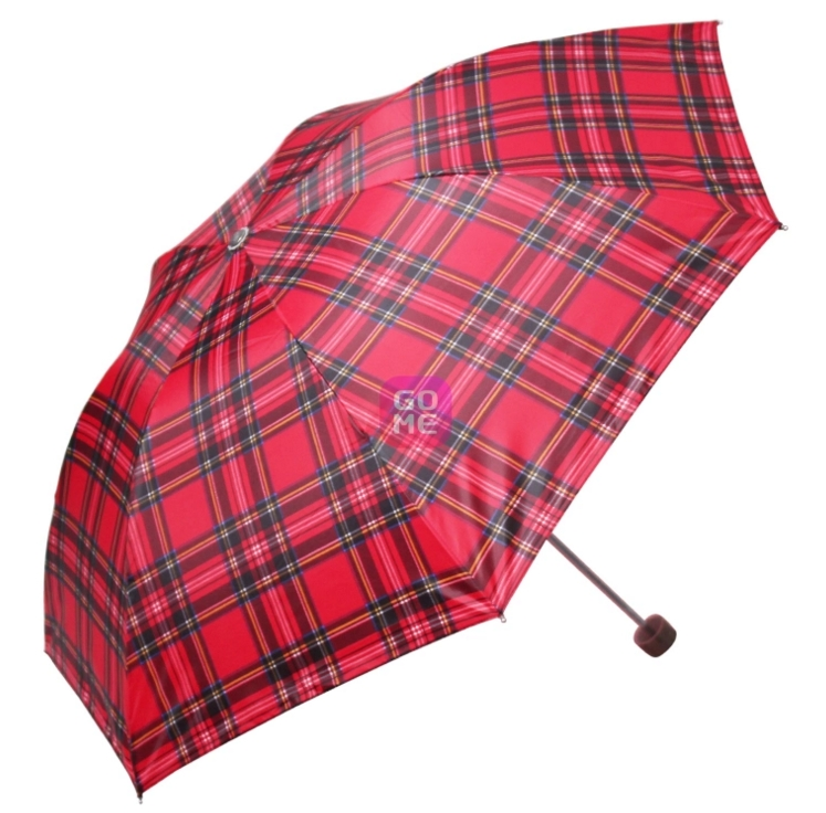 Auto open and close Scottish style folding men umbrella