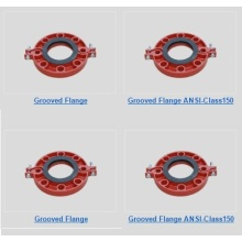 Personlized Products for Grooved Pipe Fittings Ductile Iron Grooved Flange export to Wallis And Futuna Islands Supplier