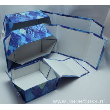 Custom Collapsible Cardboard Folding Box with Magnet Closure