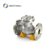 "JKTLPC010 backflow swing cast steel flanged 1"" check valve"