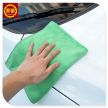shop detailing uses car microfiber towel
