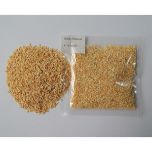 dehydrated smashed garlic granule