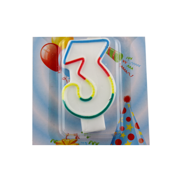 Number birthday Candles for Kids Birthday Party