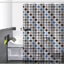 7' Waterproof Bathroom printed Shower Curtain