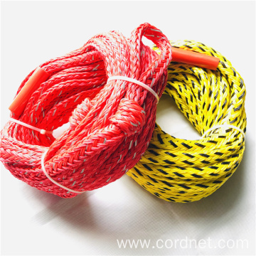 Colorful PE Braided Ski Rope For Water Sports