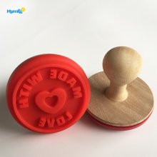 Customized for Silicone Cookie Stamp beautiful and useful  holiday Rubber cookie Stamp export to Portugal Manufacturers