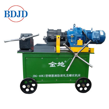 Rebar parallel thread rolling screw making machine