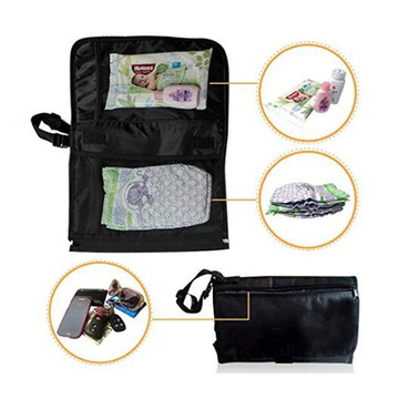 Travel  Baby Diaper Change Mat with Built