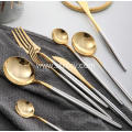 Colored Stainless Steel Dinnerware Set Cutlery Set