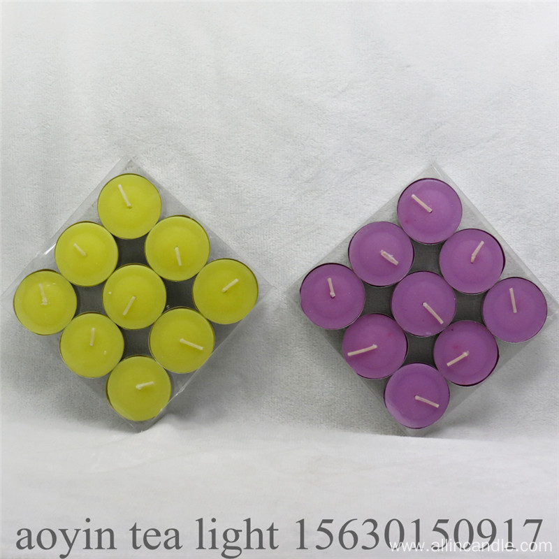 23g tea light custom candle Pressed candle