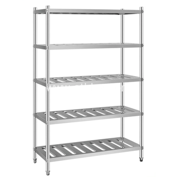 Stainless Steel Commercial Kitchen Rack Storage Shelf