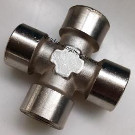 Brass Female BSPP Cross Accessory Fitting