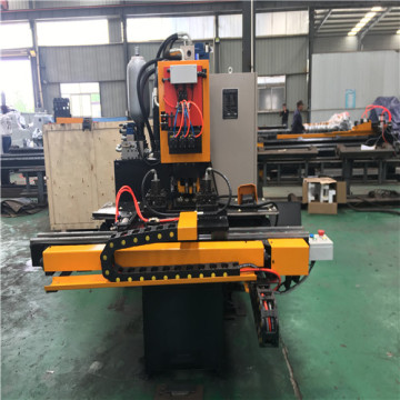 CNC Plate Steel Punching Typing and Shearing Machine