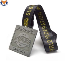 Custom metal fighting race medal