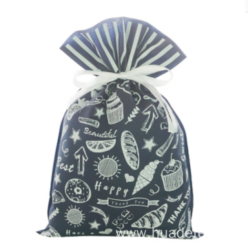 Blue Daily Non-woven Gift Wrapping Bag