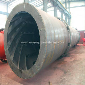 Drum Drying Plant For NPK Coal Sawdust Sand