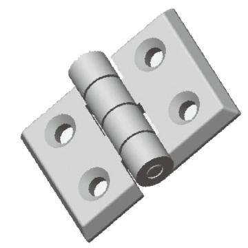 SL SS Mirror-polished Surface Finished External Hinges