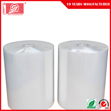 Design Warp Film LLDPE Transparent Jumbo Roll Stretch Film