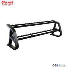 Customized for Discount Workout Equipment Ganas Luxury Commercial Dumbbell Rack 10 Pair supply to United States Factories