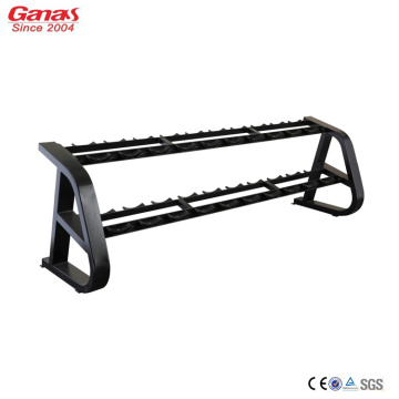 High Quality for Weight Equipment Ganas Luxury Commercial Dumbbell Rack 10 Pair export to South Korea Factories