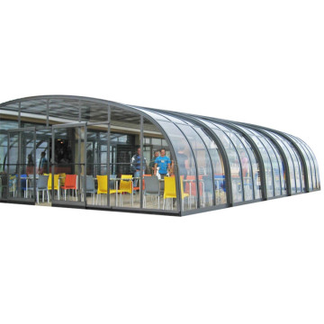 Aluminum Retractable Roof Sun Room