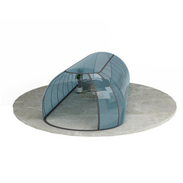 Plexiglass Retractable Bubble Swimming Pool Cover