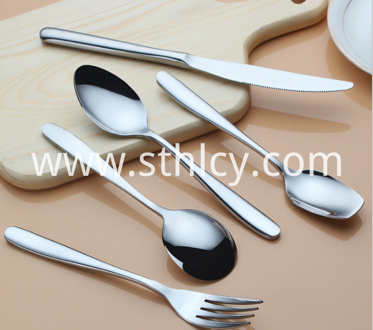 Stainless Steel Western Tableware2