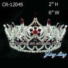 Red Beauty Queens Crowns