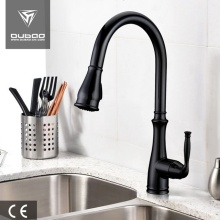 American Magnetic Matte black Kitchen Faucet Taps