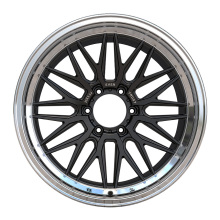 Aftermarket Pickup Rim 20x9.5 Black Lip Polished