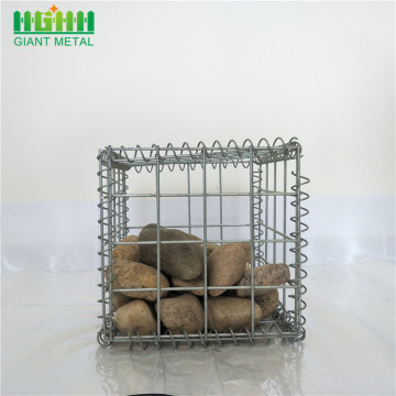 Galvanised welded mesh hesco gabion baskets